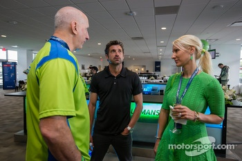 American drivers at Le Mans event: Tracy Krohn and Patrick Dempsey