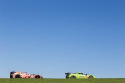 #57 Krohn Racing Ferrari 458 Italia: Tracy Krohn, Nic Jonsson, Maurizio Mediani, #45 OAK Racing Morgan - Nissan: Jacques Nicolet, Jean-Marc Merlin, Erik Marris