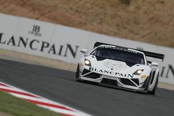#24 Blancpain Reiter Lamborghini LP600+: Peter Kox, Stefan Rosina