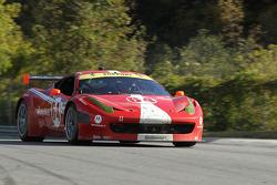 #64 Scuderia Corsa Ferrari 458: Johannes van Overbeek, Jeff Westphal
