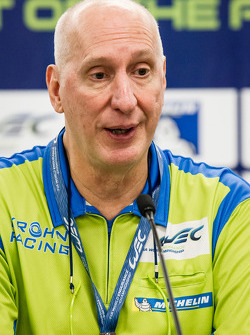Press conference for the North American WEC drivers: Tracy Krohn