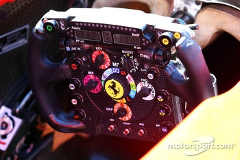 Ferrari F138 steering wheel