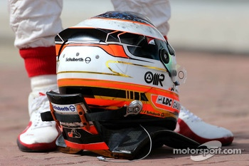 Helmet of Jules Bianchi, Marussia Formula One Team