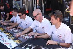 Jan Magnussen, Antonio Garcia ,Oliver Gavin, Tommy Milner
