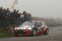 Robert Kubica and Maciek Baran, Citroën DS3 WRC