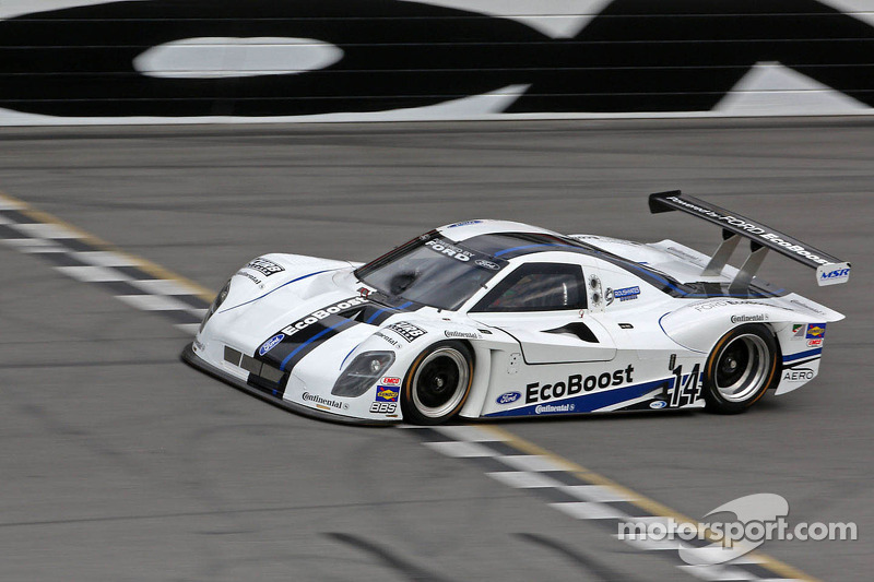 Colin Braun drives the Ford EcoBoost V6