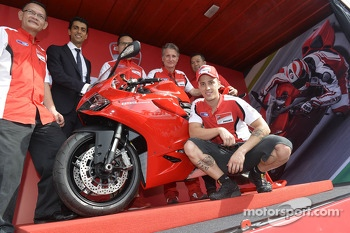 New Ducati unveiling with Andrea Dovizioso
