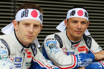 Anthony Davidson and Stéphane Sarrazin