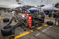 Pitstop for #12 Rebellion Racing Lola B12/60 Toyota: Nick Heidfeld, Neel Jani, Nicolas Prost