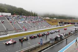 Race stopped due to heavy rain