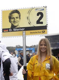 Gridgirl of Dirk Werner, BMW Team Schnitzer BMW M3 DTM