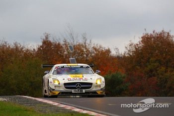 Nico Bastian, Jan Seyffarth, Rowe Racing, Mercedes Benz SLS AMG GT3