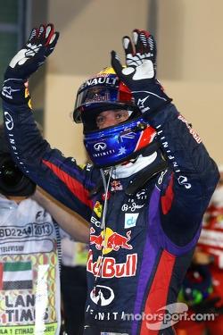 Polesitter Mark Webber, Red Bull Racing