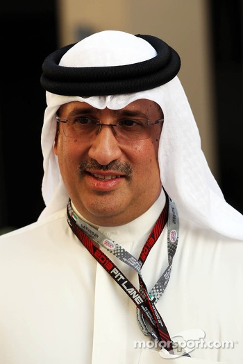 Sheikh Mohammed bin Essa Al Khalifa, CEO of the Bahrain Economic Development Board