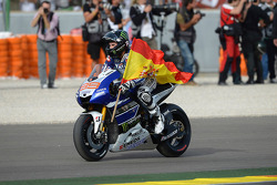 Race winner Jorge Lorenzo, Yamaha Factory Racing
