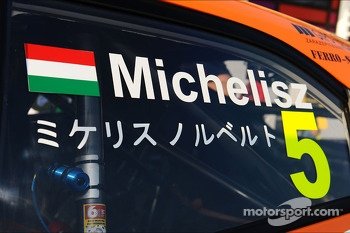Norbert Michelisz, Honda Civic, Zengo Motorsport name written in chinese ideogram