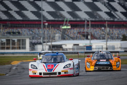 #9 Action Express Racing Corvette DP: Christian Fittipaldi, Bradley Smith, #60 Michael Shank Racing Riley Ford EcoBoost V6: John Pew, Oswaldo Negri