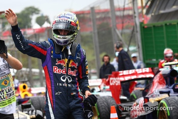 Sebastian Vettel, Red Bull Racing get pole