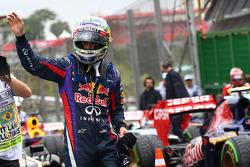 Sebastian Vettel, Red Bull Racing get pole