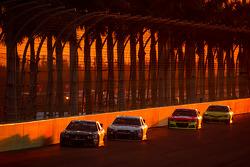 Landon Cassill, Chevrolet and Dale Earnhardt Jr., Hendrick Motorsports Chevrolet
