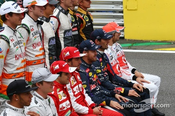 The drivers end of season photograph