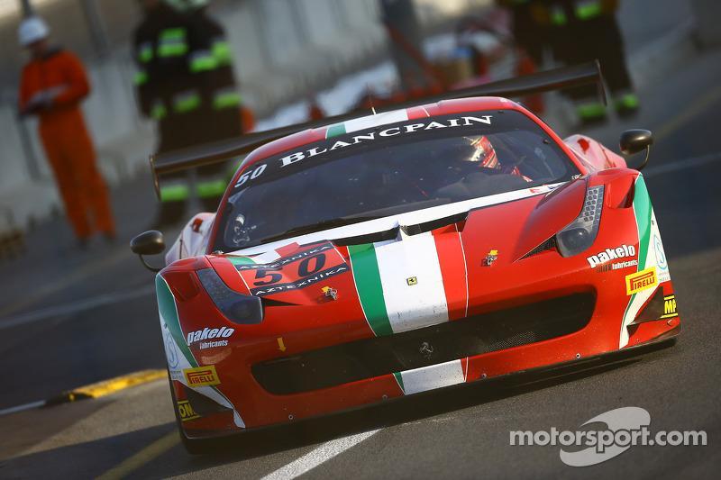 #50 AF Corse Ferrari 458 Italia GT3: Claudio Sdanewitsch, Federico Leo