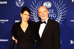 Dr. Wolfgang Ullrich, Audi Motorsport Team Boss with Eva Maria, Audi PR
