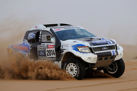 Team Ford Racing Dakar preparation