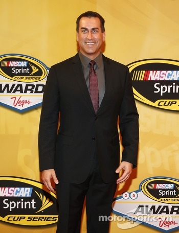 Actor Rob Riggle arrives on the red carpet