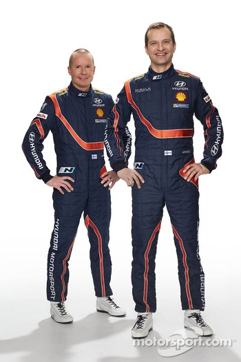 Juho Hanninen and Tomi Tuominen