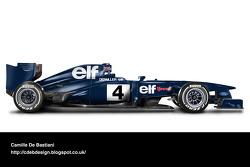 Retro F1 car - Tyrrell 1974