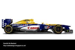 Retro F1 car - Williams 1993