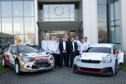 Drivers and car presentation for 2014