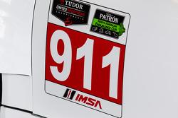 #911 Porsche North America Porsche 911 RSR detail