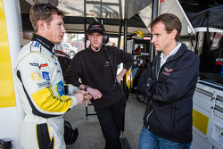 Ryan Briscoe and Antonio Garcia