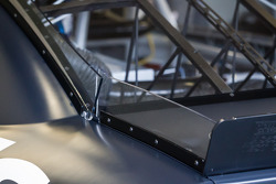Rear wing detail on the car of Jimmie Johnson, Hendrick Motorsports Chevrolet