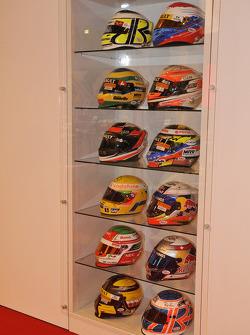 F1 Helmets