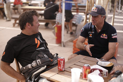 Robby Gordon and Carlos Sainz