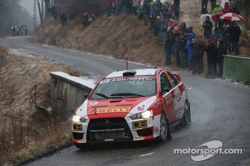 Massimiliano Redina and Mario Pizzuti, Mitsubishi Evo X