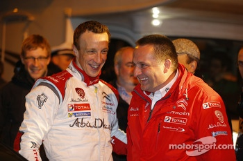 Kris Meeke and Yves Matton