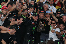 Car category winners #304 Mini: Nani Roma, Michel Perin