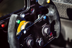#42 OAK Racing Morgan Nissan steering wheel