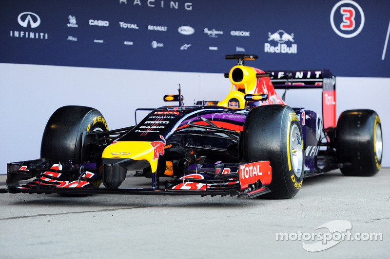 The new Red Bull Racing RB10 is unveiled