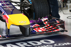 Red Bull Racing RB10 front wing and nosecone detail