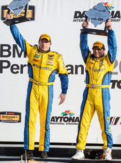GS podium: race winners Bill Auberlen and Paul Dalla Lana