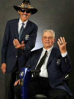 Richard Petty with 2014 inductee Maurice Petty