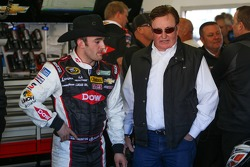 Austin Dillon, Richard Childress Racing Chevrolet and Richard Childress
