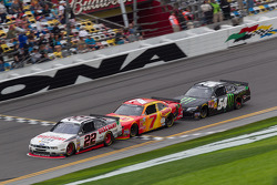 Brad Keselowski; Regan Smith; Kyle Busch