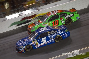 Kasey Kahne and Danica Patrick