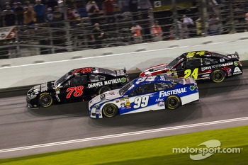 Martin Truex Jr., Jeff Gordon and Carl Edwards